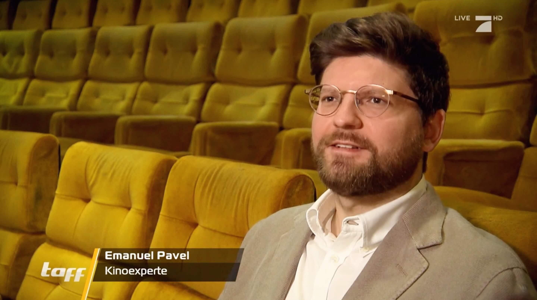 Kinoexperte Emanuel Pavel bei Taff