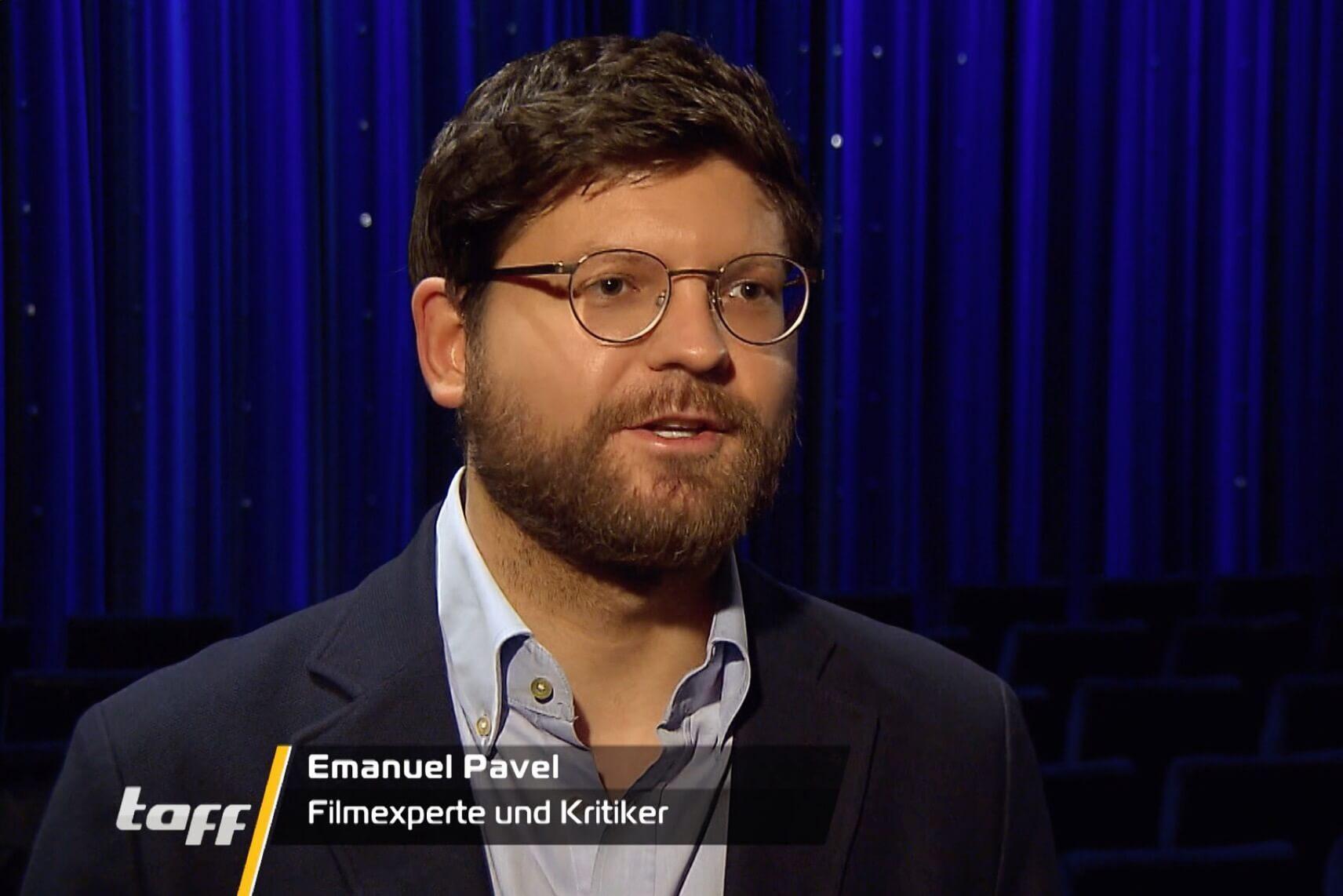 Filmexperte Emanuel Pavel bei Taff
