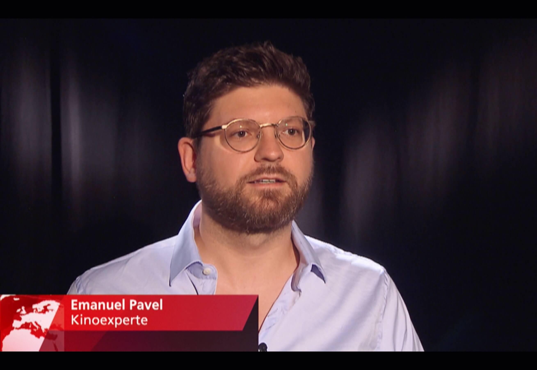 Kinoexperte Emanuel Pavel im TV